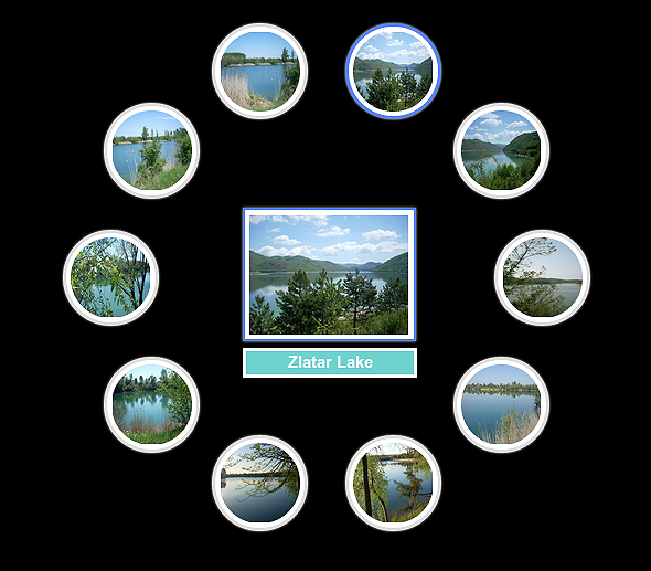 IS Circular Photo Gallery