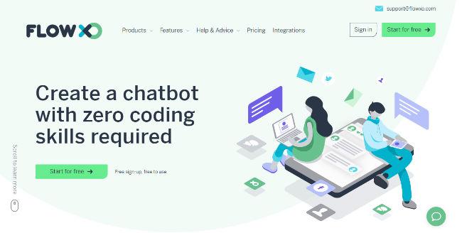 Flow XO Chatbot Platform