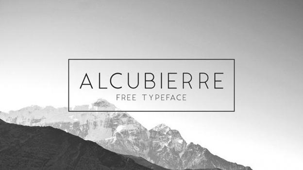 Alcubierre (sans serif)