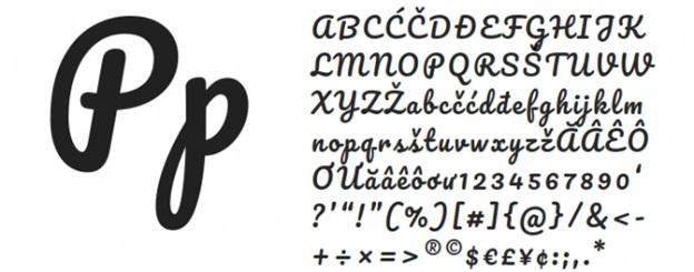 Pacifico (handwriting)
